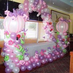 Balloons for Little Girls First Birthday. Garden Balloons - Yelp