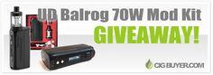 UD Balrog 70W Mod Kit Giveaway   Cig Buyer.com