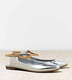 american eagle | AEO Pointy Slingback Flat #americaneagle #flat #shoes