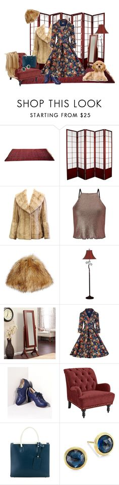 """""""Untitled #923"""" by skatiemae ❤ liked on Polyvore featuring Miss Selfridge, Hat Attack, Kenroy Home, Bettie Page, Pier 1 Imports and Marco Bicego"""