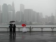 Rainy Wedding Day Portland Rain, Color Splash, Color Pop, Rainy Day Photos, Red Photography, Wedding Photography, Vintage Lace Weddings, Book Works, Rainy Wedding