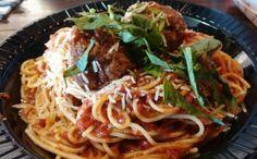 Spaghetti & Meatballs; a timeless classic.
