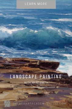 The 3 practical tips you must know so you can stop concentrating and start painting the landscape with ease.   Learn these tips and so much more ... Matt #smith oil painting, art videos, landscape painter