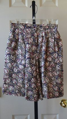 90s, floral, high waist, walking shorts, Sun-Daze by Nancy Haley, by CompassLaneChic, on Etsy. #vintage #floral #shorts
