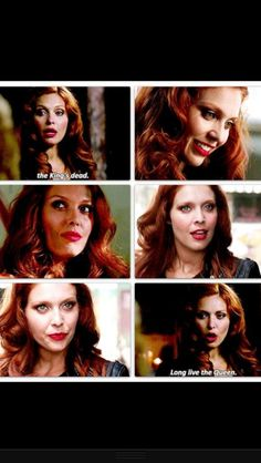 Alaina Huffman as Abaddon 9x02, she's sooo gorgeous! But VOTE CROWLEY anyways because I hate Abaddon's character!