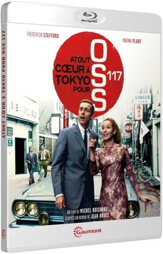 Atout coeur à Tokyo pour O.S.S. 117  F. STAFFORD - MARINA VLADY - BLU-RAY NEUF