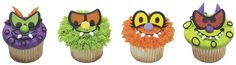 Get creative for Halloween with Scary Eyes Cupcake Rings from DecoPac