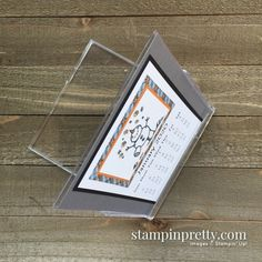 Shop Online with Mary Fish, Stampin' Pretty and Stampin' Up! Calendar 2017, Yearly Calendar, Stampin Pretty, Stampin Up, Mary Fish, Cd Cases, Desk Calendars, Card Making Inspiration, Color Card