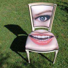 de rode stoel : Face chair