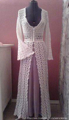 Pretty Dressing Gown | Artigos na categoria Crochet | Blog Evropa_Egorova: LiveInternet - Russo serviço de diários on-line