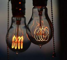 Nostalgic Edison Light Bulbs