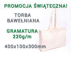 8f78f8f023ac8 Wyprzedaż torba torebka bawełniana 40x10x30 220g - 5769368757 - oficjalne  archiwum allegro
