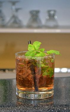 I tasted this drink at the Special Tasting Event during the Art Of The Cocktail festival. It was one of the drinks offered at the Hennesy booth. Mix fresh mint, ginger ale, Hennessy Cognac et voilà, the M & G Hennessy. Drink à la française with this simple and tasty Cognac-based drink. The addition of [...]