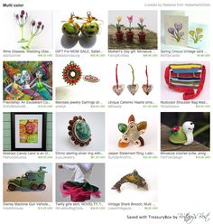 Our Multicolor Shoulder Bag in this wonderful treasury by Natasha <3 Thank you so much!!! https://www.etsy.com/treasury/NDc4MjIwOTh8MjcyNDg2MTM2OQ/multi-color