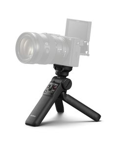 Sony announced a new camera grip, the GP-VPT2BT, which connects to many of the company's recent mirrorless cameras using Bluetooth.