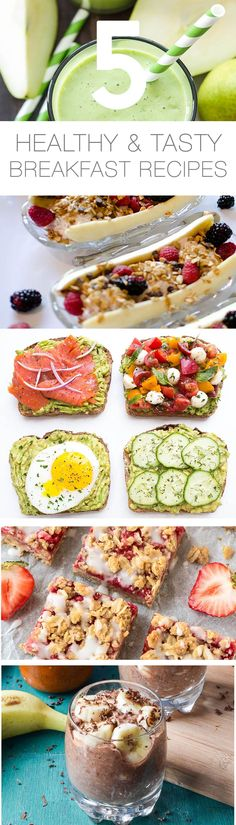 5 Healthy & Deliciously Easy Breakfast Recipes