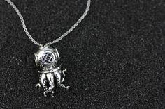 Argh. September Bead Of The Month BOTM. Ohm Beads. Octopus Diver. Talk Like A Pirate. Diver. Limited Edition. Only 222 made.