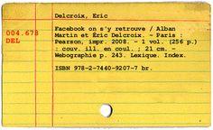 Card Catalog Generator - a little library fun