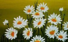 Znalezione obrazy dla zapytania malarstwo akrylowe kwiaty