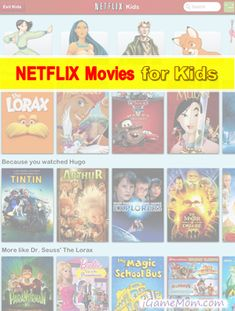 Netflix Movies for Kids