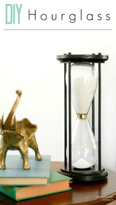 How to make a beautiful DIY hourglass