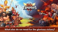 Holy TD: Epic Tower Defense APK v1.40 (Mod Money)- Android game - Android MOD Game