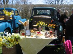 Annual Nantucket Daffodil Festival...tail gate picnic
