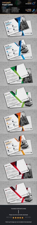 Postcard Templates PSD Bundle