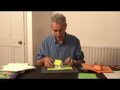 Pop-Up Tutorial 31 - Pop-Up House - Birthday Card - YouTube