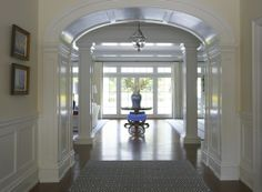 I love archways! Who knows what is just around the corner? Lynn Morgan Design