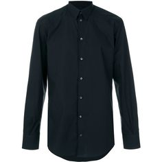Dolce & Gabbana formal shirt ($345) ❤ liked on Polyvore featuring men's fashion, men's clothing, men's shirts, men's dress shirts, shirts, tops, men, black, mens cotton dress shirts and mens longsleeve shirts