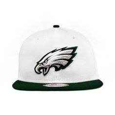 NFL Philadelphia Eagles White Top Snapback Cap fb916f534
