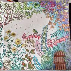 Jardim Secreto/Jardim Porta/Johanna Basford