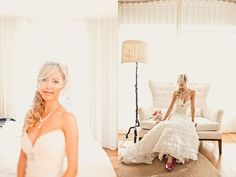 love the dreaminess of these bridal portraits.
