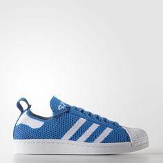the best attitude 4d3b1 2b538 Scarpa Adidas Donne Originals Superstar 80S Primeknit Blu Bianche Migliori  Offerte