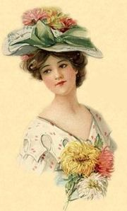 Small French Victorian Hat