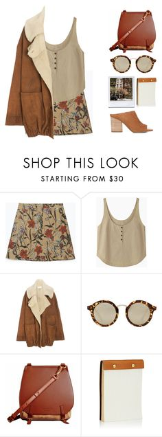"""""""N°235"""" by yellowgrapes ❤ liked on Polyvore featuring Zara, Rachel Comey, Wunderkind, MANGO, Burberry and Barneys New York"""