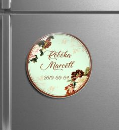 Egyedi hűtőmágnesek - Menyaklub köszönőajándék, esküvői mágnes, kreatív köszönő ajándék, save the date card. kör mágnes. Minden elképzelést valóra váltunk! Save The Date Card, Minden
