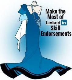 """Make the most of Linkedin endorsements"" via www.Facebook.com/CareerBliss"