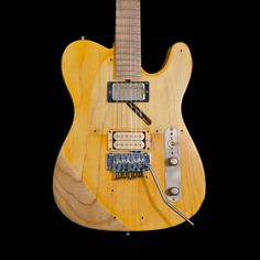 "RS Guitarworks Old Friend ""Workhorse"" frankensteined telecaster Stratocaster Guitar, Fender Guitars, Bass Guitars, Electric Guitars, Guitar Amp, Cool Guitar, Acoustic Guitar, Much Music, Music Stuff"