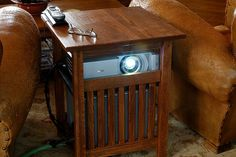 projector side table - Google Search