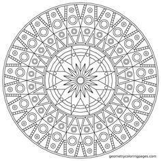 Mandala Coloring Pages Printable. Collection of Mandala coloring pages. You can find mandala images to color, from easy to hard. Abstract Coloring Pages, Detailed Coloring Pages, Free Adult Coloring Pages, Flower Coloring Pages, Mandala Coloring Pages, Coloring Pages To Print, Coloring Book Pages, Printable Coloring Pages, Coloring Sheets