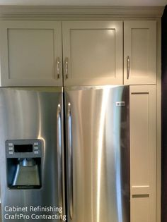 Kitchen Cabinet Painting Nj before & after: our kitchen cabinet refinishing & painting service