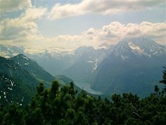 If I were Hitler I'd want this view too.  View from the Kehlsteinhaus, Berchtesgaden, Germany