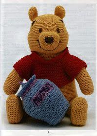 Amigurumi: Winnie the Pooh