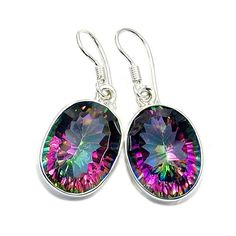 Incredible Mystic Topaz & .925 Sterling Silver by TheSilverPlaza