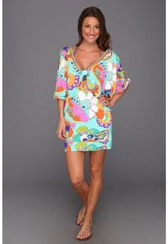 1e0f82e7deee9 Find the lowest price on the Trina Turk - Sea Cove Covers Tunic (Multi) Trina  Turk. We offer the best selection of womens swimwear and bikinis online.