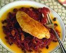 Filet de dinde au chou rouge