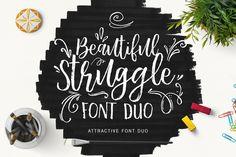 @newkoko2020 Beautiful Struggle by Get Studio on @creativemarket #feminine