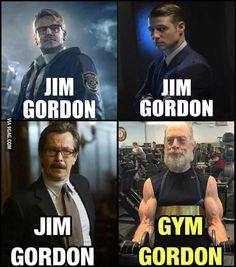 Gym Gordon #batman #justiceleague #brickshithouse  That's SO Geekin' Awesome! http://www.sogeekinawesome.com